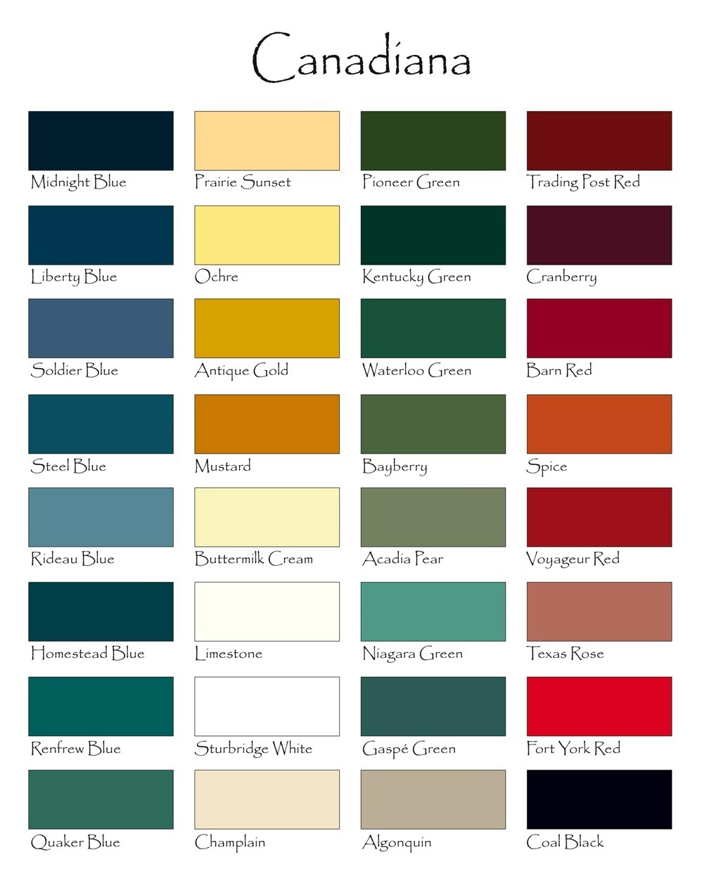 Automotive paint color charts online bing images Best paint colours